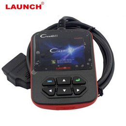 Wholesale Launch Auto Diagnostic Tools - Original Launch Creader VI OBDII Code Scanner Creader 6 Fault Code Reader OBD 2 Diagnostic- Tool Online Update Free Shipping