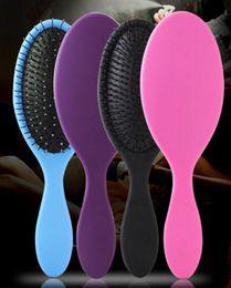 Brosse humide originale en Ligne-Dropshipping Hot Wet Dry Brosse À Cheveux Original Detangler Hair Brush Massage Peigne Avec Airbags Peignes Pour Wet Hair Brosse De Douche