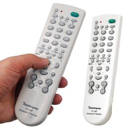 Wholesale tv version - 1pcs Portable Super Version Universal TV Remote Control Controller For TV Television wholesale Dropshipping