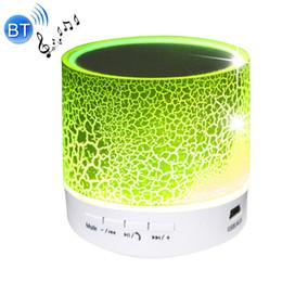 Radio dock iphone en Ligne-En gros - LED Mini Bluetooth haut-parleurs sans fil lecteur USB haut-parleur avec TF FM Musique Blutooth pour voiture téléphone mobile Iphone