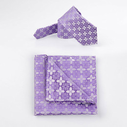 Wholesale Ties Necktie Colorful Neck Tie - TIESET Mixed Wholesale Men's Polyester Necktie & Pocket Square Set Special Pattern Young Colorful Social Kerchief Free Shipping