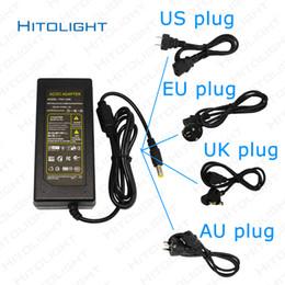 Canada HITOLIGHT AC110V-240V LED Alimentation DC12V 5A 6A 7A 10A Commutateur de transformateur de lumière à bande LED d'éclairage avec US / EU / UK / AU Plug Offre