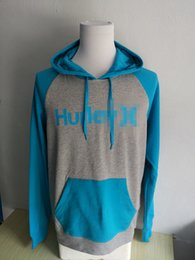 Wholesale Hoodies Wholesale Usa - Wholesale-Men's One&Only Print Raglan Pullover Hoodie USA Size S-XXL (Thin Fabric)