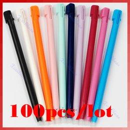 Wholesale Stylus Game Pens - Wholesale- 100pcs lot Colorful Stylus Pen Game New