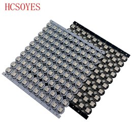 rgb perlen Rabatt 100 stücke ws2812b Individuell adressierbare led chip ws2811 ic RGB 2812b led kühlkörper (10mm * 3mm) led licht perlen DC5V