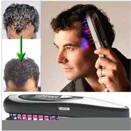 Wholesale Laser Treatment Power Grow - Laser Treatment Power Grow Comb Kit Stop Hair Loss Hot Regrow Therapy Free Shipping
