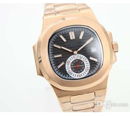 Wholesale Whatches Gold - Luxury Brand Black Dial Golden Stainless Belt Whatches Golden Populer Stainless Pointer Watch Mens Fashion Wrist Watches