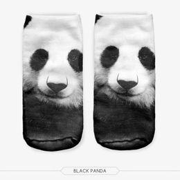 Wholesale Wholesale Men Socks China - New Hot sales Cartoon China Panda 3D Koala Animal Printed Women Men Girls cute Low Cut Ankle lovely cute sokker Hosiery Socks