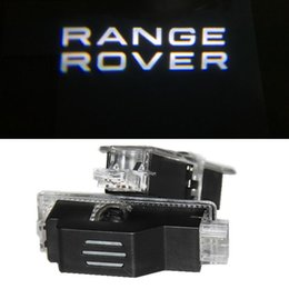 Wholesale Door Led Laser Welcome Projector - LED car door welcome projector logo laser ghost shadow light for Land Rover Range Rover Evoque Discovery 4 Freelander 2