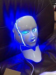 Wholesale Firming Masks - 7 Colors LED light Photon Therapy Skin Rejuvenation Firming PDT Facial Neck Mask