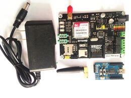Wholesale Arduino Base - IKEYES G2 Arduino DIY M-Bridge board for GSM GPRS Wireless dev platform based on Arduino