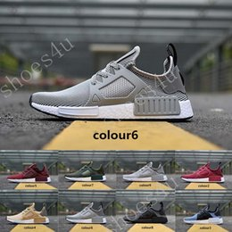 Wholesale Children Shoes For Cheap - BEST NMD XR1 Glitch Black White Blue Camo Olive Adult And Kids Children Running Shoes sports sneaker cheap online for sale