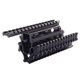 Wholesale Picatinny Handguard - Model AK 47 Universal Tactical Quad Rail System Drop-in Handguard Picatinny Rails Forend SIS MNT-HG478SA