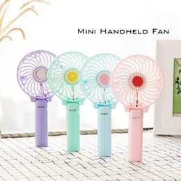 Wholesale Household Plastic Box - Foldable Portable Desk Desktop Table Cooling Fan Battery Operated Electric Fan for Office Outdoor Household Travel.