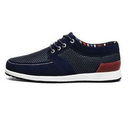 Wholesale Resistance Wear - Summer ventilation comfortable and cool slip-on casual shoes wear resistance net surface trendy all-match tide men's shoes gdp 14501 SQL