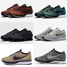 Wholesale Lowest Casual Shoe - 2017 New Racer Free Run Lunarepic Running Shoes For Men Women Casual Racers Lightweight Breathable Lunar Epic Lunarepics Sneakers 36-45