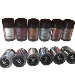 Wholesale Eyeshadow Primer Set - Mini NYX Glitter Primer Cream Concealer Cream NYX Glitter Face and Body Shimmer Powder 6 colors Eyeshadow Powder IN STOCK 24 sets