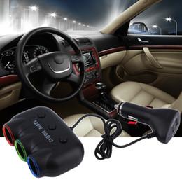 2019 caricabatteria per auto mini plug plug eu Caricabatteria da auto con alimentatore per accendisigari automatico multi caricatore auto multi socket da 120W