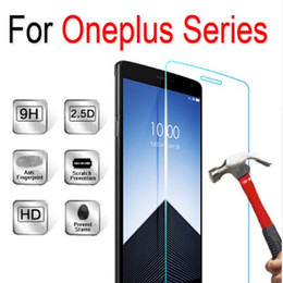 Wholesale One X Screen Guard - For Huawei Mate 9 Tempered Glass Anti-Scratch Screen Protector Film guard For one plus OnePlus one two three 3 2 1 x + Retail-box