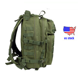 Wholesale Bug Backpack - Outdoor Backpack 40L Military Army Molle Bug Out Bag 3 Day Assault Pack Waterproof Rucksack for Hiking Camping Trekking Hunting bag us stock