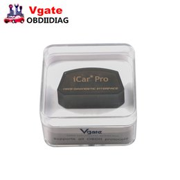 Wholesale Torque Pro - Vgate iCar Pro elm327 v1.5 WiFi   Bluetooth 3.0 4.0 Android Torque app OBDII scan tool elm 327 Support for Android IOS