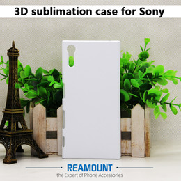 Wholesale 3d Sublimation Phone Cases Blanks - 50pcs 3D printed case For Song Xperia E4 E5 DIY blank sublimation phone printing case mix glossy or matte Free shipping