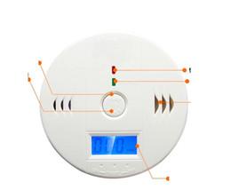 sistemas de alarma de gas Rebajas Sistema de seguridad de alarma de gas inalámbrico de batería Marki de 10 piezas Alerta de humo Monóxido de carbono Detectores de CO Alarma de gas 10A