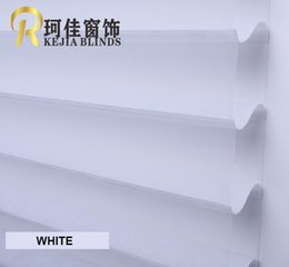 Wholesale Roller Free Shipping - Wholesale-free shipping 2'' TRANSPARENT OR BLACKOUT Shangrila roller blinds zebra blinds rainbow blinds customized size from China factory