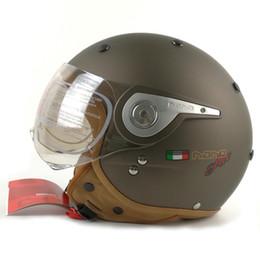 Wholesale Casco Vintage - BEON vintage off road motocross men feminino motorcycle helmet vespa casco capacete open face capacetes motociclistas B-110A