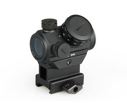 Wholesale Rifle Riser - New 1X20 HD Reflex Red Dot Sight Scope With Quick High Riser for 20mm Weaver Rail Mount