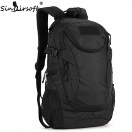 Wholesale Nude Swimming - SINAIRSOFT Outdoor Molle 25L Sport Bags Tactical Bag Back pack Fishing Hunting Camping Hiking Tactical hiking volleyball baseball Backpack