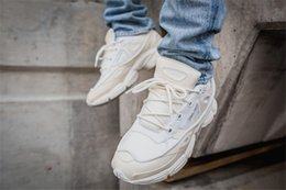 Wholesale Rubber Trends - Raf Simons x ad Consortium Ozweego 2 Boots Men's Women's shoes Running shoes Leisure trend Sports shoes Pure white Full red black morecolor
