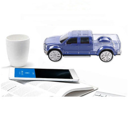 Wholesale Flash Player Light - Vehicle Model Bluetooth Speaker Portable Stereo Music Player LED Flash Light Wireless Sound Box Handsfree Support TF FM Radio For iphone IPA