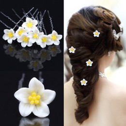 Wholesale Disc Headdress - Disc type U Hair Flower Clip bride beautiful headdress flower FS00113