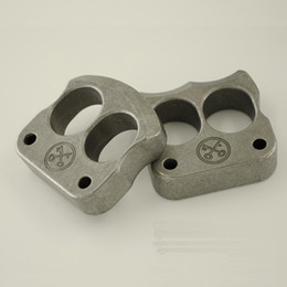 Wholesale Finger Gear - Titanium TC21 Tiger Finger Double Two Finger Knuckle 160g pc CNC Machined for Self-defense Durable Great Hande Feeling