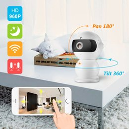Wholesale Hid Infrared - SANNCE 960P HD Alarm P2P Hidden Robot IP Camera Wireless Wifi Two Way Audio Baby Monitor