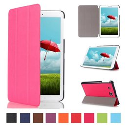Wholesale Galaxy Tab Case 1pcs - 1PCS Good Quality Ultra Slim Luxury Stand PU Cover For Samsung Galaxy Tab E 9.6 Flip Case T560 T561