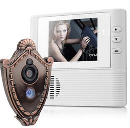 Wholesale Lcd Digital Peephole Door Bell - Lcd digital Door Camera Doorbell peephole Door viewer eye Home Security Camera Cam door bell 3X Zoom