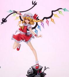 Wholesale Touhou Action Figure - 20151016 Hot-Selling 1pcs 24CM pvc Japanese Anime Figure TouHou Project Flandre Scarlet Action Figure Collectible Model Toys Brinquedos