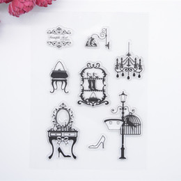 Wholesale New Scrapbook - Wholesale- 2017 new Scrapbook DIY Photo Album Account Transparent Silicone Rubber Clear Stamps Fashion