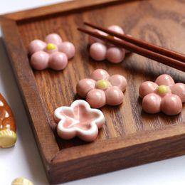 Wholesale Ceramic Flatware - ceramic chopsticks rack frame cartoon chopsticks rest flatware chopsticks holder wholesale