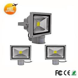Wholesale Flood Sensors - Wholesale-Hot sale IP65 Waterproof 10W 20W 30W Led Floodlight Outdoor lighting projecteur LED Flood light 85-265V external sensor