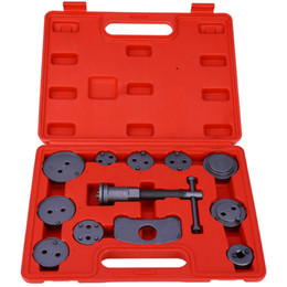Wholesale Repair Caliper - 12pcs Set Universal Automobile Car Professional Disc Brake Pad Pump Caliper Piston Wind Back Tool Repair Kit 180629101