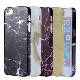 Wholesale Black Granite Stones - OCWAVE best quality cute marble coque case for iphone 5 5s SE Granite Marble stone Texture Pattern Smooth IMD hard cover capa