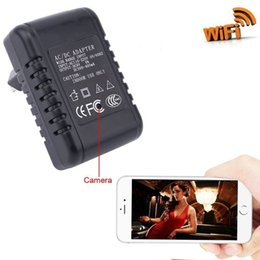 Wholesale Adapter Spy Camera Motion - Wireless Video WiFi Hidden Camera HD 1080P Mini Spy Camera Charger Adapter with Soft Finishing, App Real-Time Video Viewing, Motion