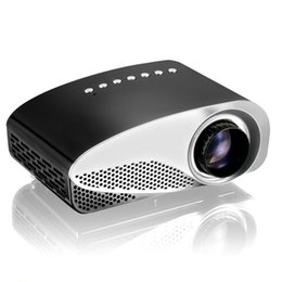 Wholesale Dlp Proyector - Wholesale-RD802 Mini LED Projector Portable Pocket Proyector Full HD Projetor Home Theater Proyectores Video Games AV TV VGA HDMI