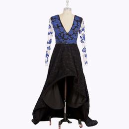 Wholesale Hilo Prom Dresses - Real Photo Hilow Evening Dress Black Girl Prom Party Ball Gown Long Sleeves Hilo A Line Formal Dresses vestido de festa vestido formatura