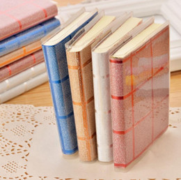Wholesale Wholesale Pens Notepads - Mini Notebook Creative Tower Hardcover Combine Memo Pad Notepad Stationery Diary Notebook Office School Supplies With Pen