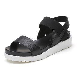 Wholesale Comfortable Wedges Sandal - 2017 Summer New Flat Sandals Women Fashion Comfortable Platform Open Toes Shoes Women Sandals Chaussure Femme