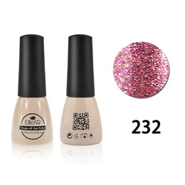 Wholesale bling for nails - Wholesale-Elite99 7 ml UV Gel Polish 178 Gorgeous Colored Gel Nail Polish Professional Bling Nail Gel Lacquer for Nail Makeup